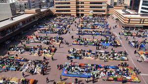Keşanda halk pazarı, koronavirüs tedbiri için kapatıldı