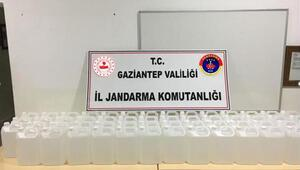 Gaziantepte sahte dezenfektan operasyonu: 7 gözaltı