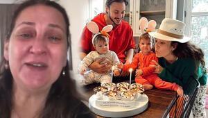 Pelin Akil ve Anıl Altandan babaanneyi ağlatan kutlama
