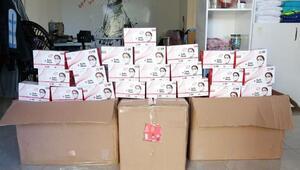 Antalyada 12 bin 150 sahte maske ele geçirildi