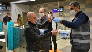 Maskeler Bursa Büyükşehir Belediyesi'nden, tedbir vatandaştan