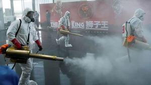 Salgının başladığı Vuhanda dezenfekte seferberliği