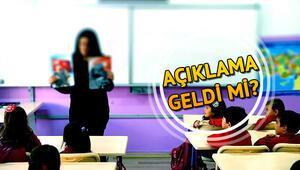 Okullar ne zaman açılacak Tatilin biteceği tarih belli oldu mu  Milli Eğitim Bakanı cevapladı