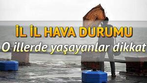 İstanbul için fırtına uyarısı geldi: Pazar günü hava nasıl olacak 5 Nisan il il hava durumu