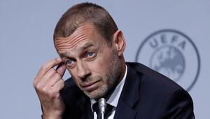 UEFA Başkanı Aleksander Ceferin: Şampiyonlar Ligi ve UEFA Avrupa Ligini 3 Ağustos'a kadar bitirmek istiyoruz