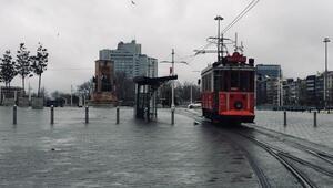Nostaljik tramvay son seferlerini yapıyor Bu akşam 21:00de geçici olarak durdurulacak