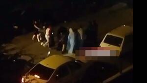Ankarada tepki çeken görüntü Uyarı dinlemediler, yol ortasında halay çektiler