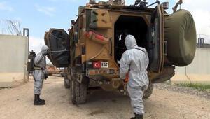 MSB: Askeri hudut geçiş ve ikmal kapılarında sağlık kontrolü devam ediyor