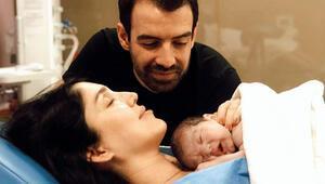 Yavuz Bingölün kızı Türkü Bingöl anne oldu