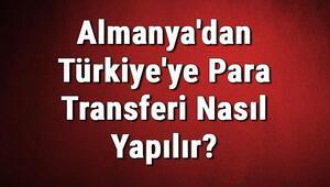 Almanyadan Türkiyeye Para Transferi Nasıl Yapılır Para Gönderme Yöntemleri