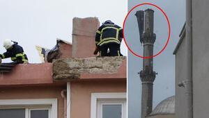 Turuncu alarm verilmişti İşyerlerinin camları indi, çatılar uçtu….