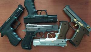 İşyerinden 5 kurusıkı tabanca çalan 3 çocuk yakalandı