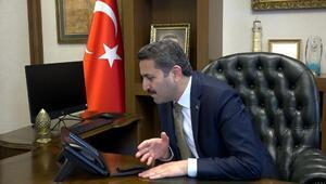 Başkan Eroğlu, yaşlılarla telefonda görüştü