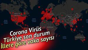 Corona virüs son vaka ve ölüm sayıları 7 Nisan 2020.. İllere göre virüs vaka haritası.. Türkiyede koronavirüs son durumu tablosu