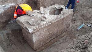 Silivri'de bulundu Roma dönemine ait…