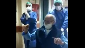 Yer İzmir... 95 yaşındaki hasta koronavirüsü yendi