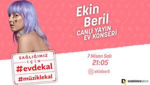 Ekin Beril, Demirören Medya'nın başlattığı müzik hareketine katılıyor.
