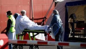 Son dakika haberi: Fransada corona virüsten bir günde 833 kişi öldü