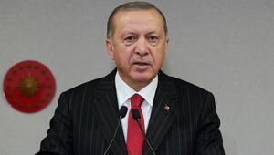 Cumhurbaşkanı Erdoğandan koronavirüsle mücadele paylaşımı