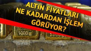 Altın fiyatlarında son durum ne Altın fiyatları 9 Nisanda ne kadar oldu Gram ve çeyrek altın alış satış fiyatı