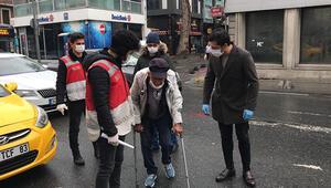 Polis görünce şoke oldu, yaşlı adam pes dedirtti
