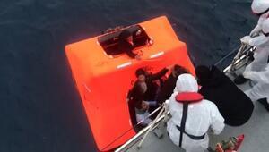 Yunanistan can salı ile ölüme terk etti, Türk Sahil Güvenlik ekipleri kurtardı
