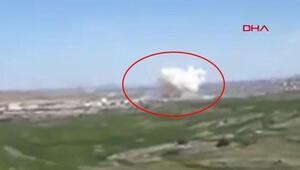 Ankarada Roketsanda patlama İşte ilk görüntüler
