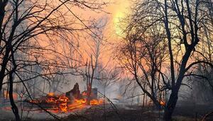Çernobildeki yangın 3 gündür devam ediyor
