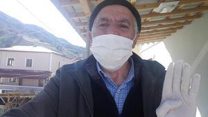 60 yaşındaki hasta, koronavirüsü yenip, taburcu oldu
