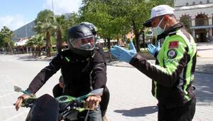 Muğlada motosikletlere 2 kişi binmek yasaklandı