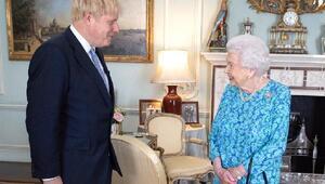 Kraliçe Elizabethten Boris Johnson mesajı