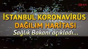 İstanbul ilçelere göre corona virüs yoğunluğu paylaşıldı