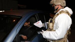 Jandarmanın koronavirüs önlemleri devam ediyor