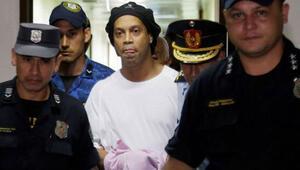 Son dakika | Efsane futbolcu Ronaldinho serbest bırakıldı