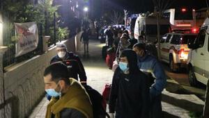 Iraktan getirilen 511 Türk, Afyonkarahisarda karantinaya alındı