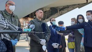 MSB: Türkiyenin gönderdiği sağlık malzemeleri Sırbistana ulaştı