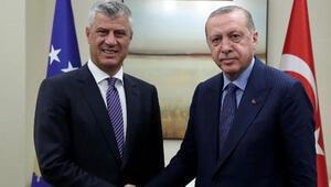 Kosova Cumhurbaşkanı Thaçi: Yardımlarından dolayı Türkiye ve Erdoğana minnettarız