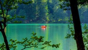Türkiyenin yeşil cenneti en sakin günlerini yaşıyor