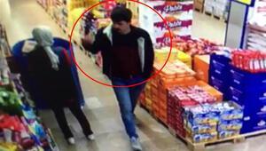Avcılar'da markette maske kavgası kamerada
