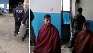Sosyal medyada yayılan 'saç tıraşı' baskını ile ilgili detaylar ortaya çıktı