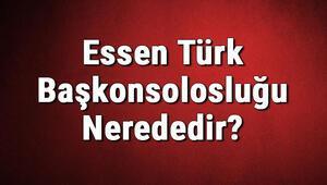 Essen Türk Başkonsolosluğu Nerededir Konsolosluk İletişim Bilgileri, Adresi, Telefon Numarası Ve Çalışma Saatleri