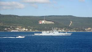 Rus savaş gemileri, Çanakkale Boğazından geçti