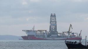 Türkiyenin ilk yerli sondaj gemisi Fatih İstanbulda