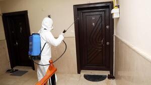 Mudanyada dezenfekte çalışmaları sürüyor