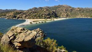 Türkiyede cennetten bir köşe: Bafa Gölü