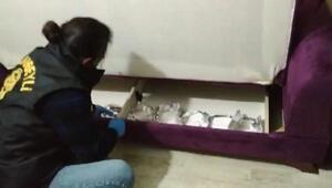 Sultanbeylindeki uyuşturucu operasyonu kamerada