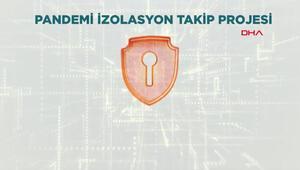 Kovid-19a karşı Pandemi İzolasyon Takip Projesi