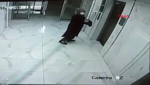 Kayseride panik... Elindeki sıvıyı her yere sürdü Polis her yerde onu arıyor