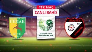 Belarusta futbola koronavirüs arası yok Dördüncü haftanın açılış maçına banko iddaa...