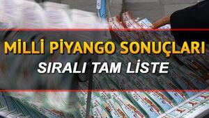 Milli Piyango çekiliş sonuçları açıklandı